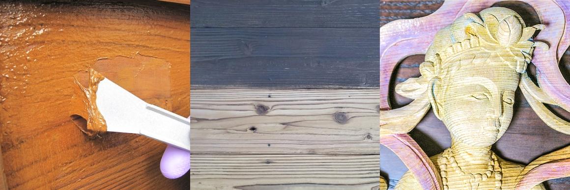 浸透性保護塗料の剥離工法(水性・油性)の参考写真